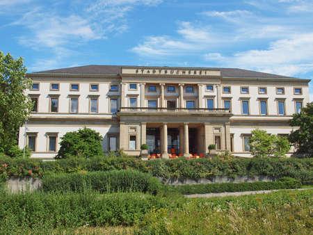 The Stadtbuecherei (City library) in Stuttgart, Germany Stock Photo - 14553446