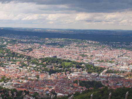 View of the city of Stuttgart in Germany Stock Photo - 14797325