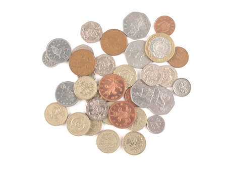geld: Pound coin (currency of the United Kingdom) Stock Photo