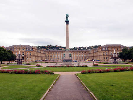 The Schlossplatz (Castle square) in Stuttgart, Germany