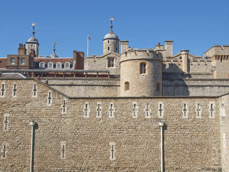 The Tower of London medieval castle and prison Stock Photo - 15319690