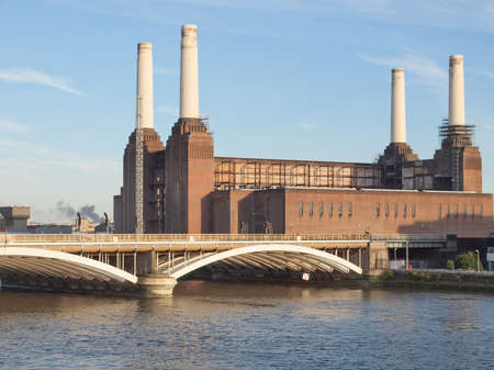 Battersea Power Station in London England UK Stock Photo - 15319684