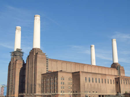 Battersea Power Station in London England UK Stock Photo - 15319683