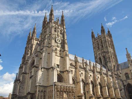 canterbury: La cath�drale de Canterbury dans le Kent en Angleterre au Royaume-Uni