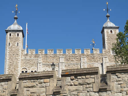The Tower of London medieval castle and prison Stock Photo - 15792626