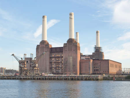 Battersea Power Station in London England UK Stock Photo - 15792658