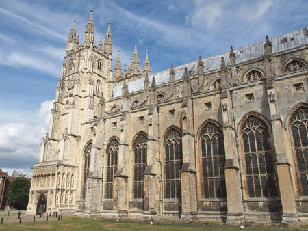 The Canterbury Cathedral in Kent England UK photo