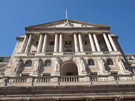 historical buildings: The historical building of the Bank of England, London, UK