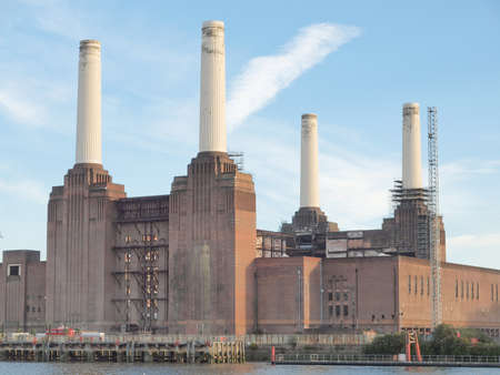 powerstation: Battersea Power Station in London England UK