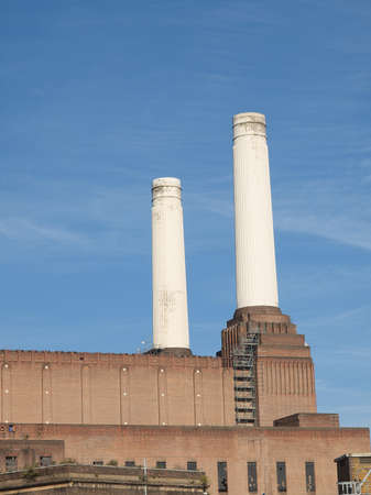 Battersea Power Station in London England UK Stock Photo - 16266523