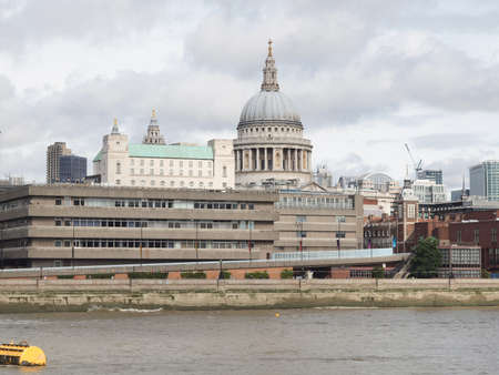 St Paul Cathedral in London United Kingdom (UK) Stock Photo - 16487577