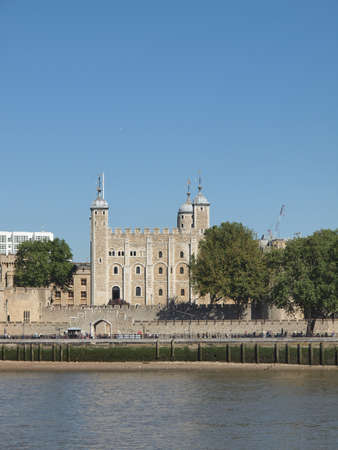 The Tower of London medieval castle and prison Stock Photo - 16705005