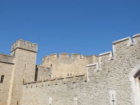 The Tower of London medieval castle and prison Stock Photo - 16705010