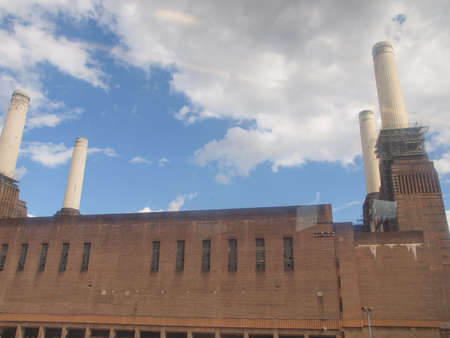 Battersea Power Station in London England UK Stock Photo - 16817097