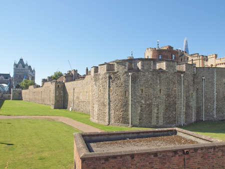 The Tower of London medieval castle and prison Stock Photo - 16817134