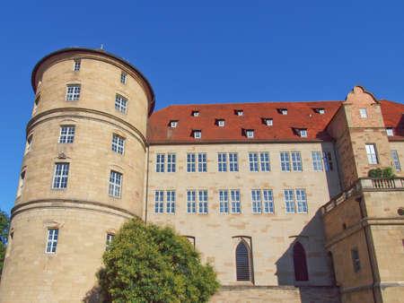 Altes Schloss (Old Castle) in Stuttgart, Germany Stock Photo - 16961780