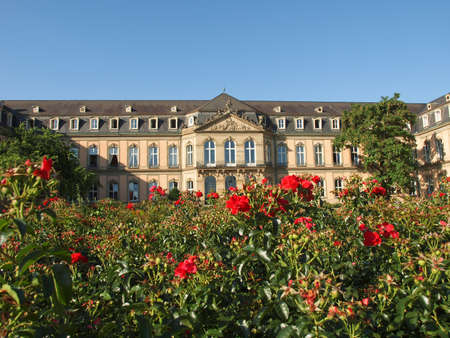 Neues Schloss (New Castle) in Stuttgart, Germany Stock Photo - 16961784