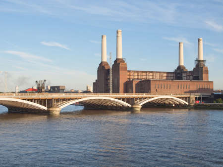 Battersea Power Station in London England UK Stock Photo - 17202309