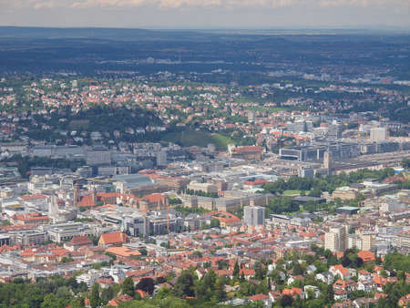 View of the city of Stuttgart in Germany Stock Photo - 17202329
