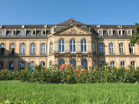 Neues Schloss (New Castle) in Stuttgart, Germany Stock Photo - 17202324