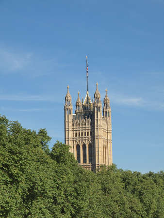 Houses of Parliament Westminster Palace London gothic architecture Stock Photo - 17212848