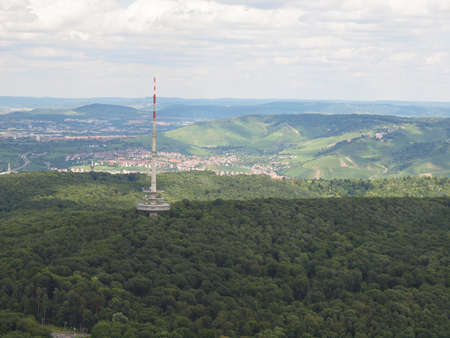 View of the city of Stuttgart in Germany Stock Photo - 17212770
