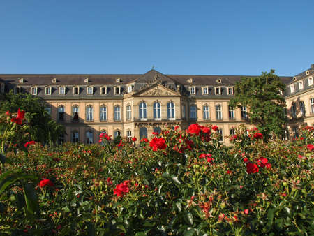Neues Schloss (New Castle) in Stuttgart, Germany Stock Photo - 17202317