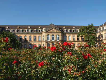 Neues Schloss (New Castle) in Stuttgart, Germany Stock Photo - 17202317