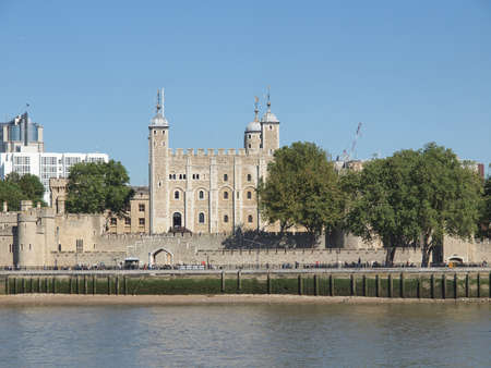 The Tower of London medieval castle and prison Stock Photo - 17292175