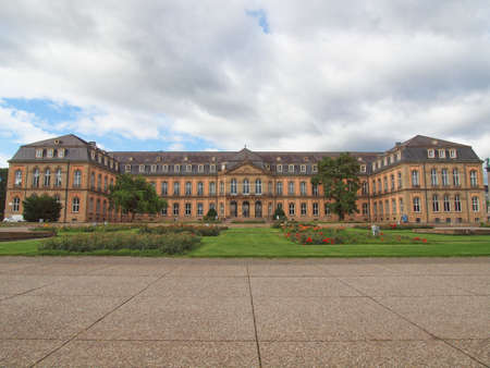 Neues Schloss (New Castle) in Stuttgart, Germany Stock Photo - 17297800