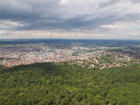 View of the city of Stuttgart in Germany Stock Photo - 17292179