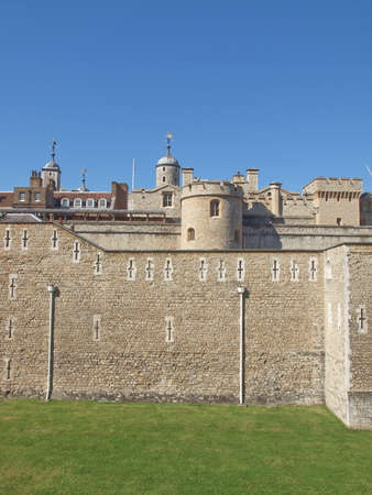 The Tower of London medieval castle and prison Stock Photo - 17326831