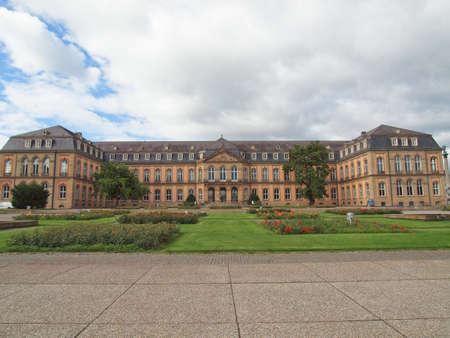 stuttgart: Neues Schloss (New Castle) in Stuttgart, Germany