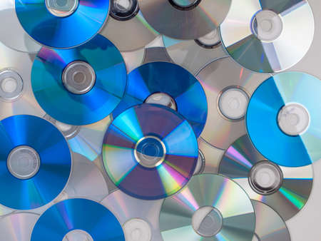 bluray: CD, DVD, BD (Bluray) optical discs for music, video and data storage