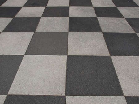 tile cladding: A checkered floor useful as a background