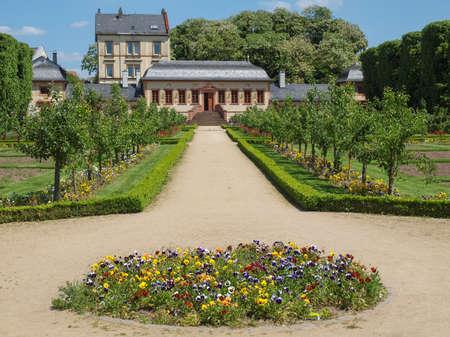 garten: Prinz Georg Garten in Darmstadt in Germany Stock Photo
