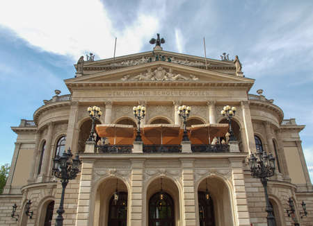 Alte Oper Old Opera House in Frankfurt am Main Germany Stock Photo - 20188640