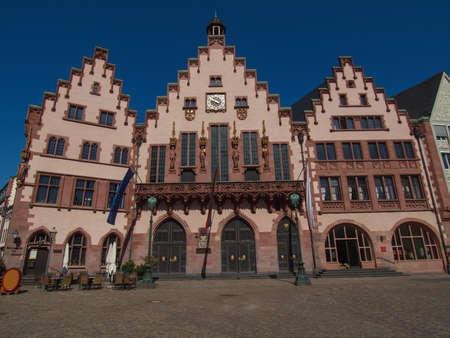 rathaus: Frankfurt city hall aka Rathaus Roemer Germany Editorial
