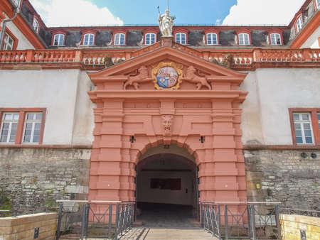 mainz: Mainz Zitadelle citadel of Mainz in Germany Editorial
