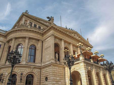 Alte Oper Old Opera House in Frankfurt am Main Germany Standard-Bild
