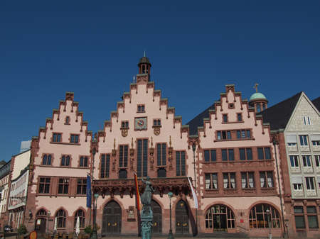 Frankfurt city hall aka Rathaus Roemer Germany Stock Photo - 20226751