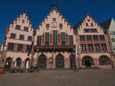 Frankfurt city hall aka Rathaus Roemer Germany Stock Photo - 20226606