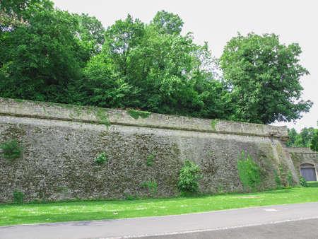 the citadel: Magonza Zitadelle cittadella di Mainz in Germania Archivio Fotografico
