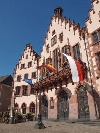Frankfurt city hall aka Rathaus Roemer Germany Stock Photo - 20342555