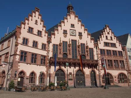 Frankfurt city hall aka Rathaus Roemer Germany Stock Photo - 20342860
