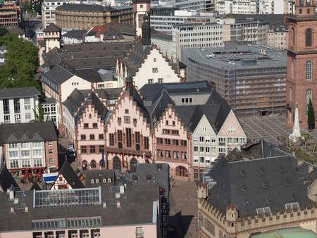 Frankfurt city hall aka Rathaus Roemer Germany Stock Photo - 20342871
