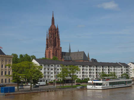 St Bartholomaeus Dom cathedral in Frankfurt am Main, Germany Stock Photo - 20342809