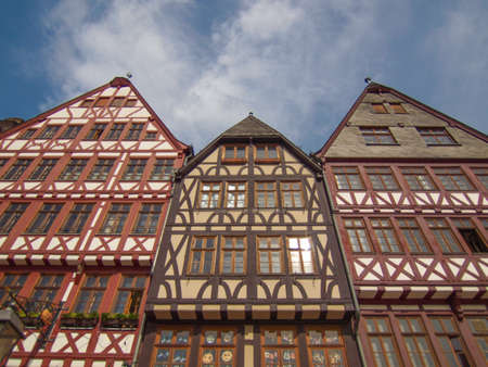 Roemerberg old city in Frankfurt am Main Germany Stock Photo - 20342808