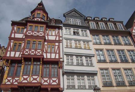 Frankfurt city hall aka Rathaus Roemer Germany Stock Photo - 20342807