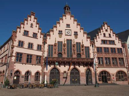 Frankfurt city hall aka Rathaus Roemer Germany Stock Photo - 20342850